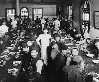 ellis island dining hall
